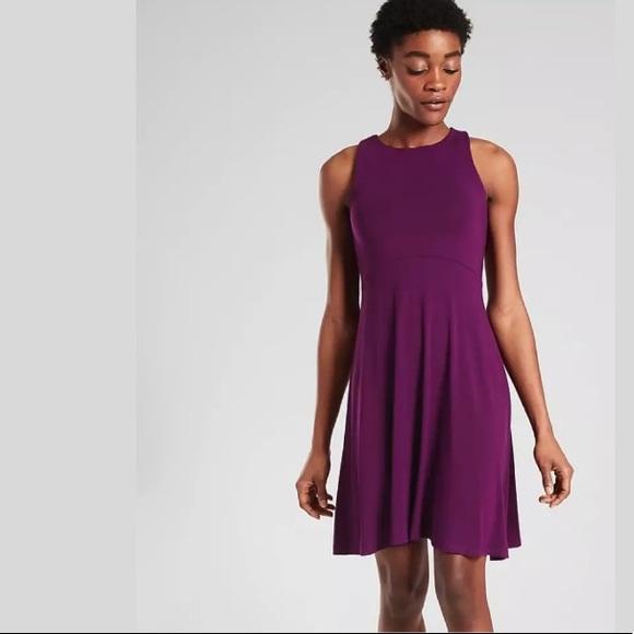 ATHLETA Santorini Thera Dress Velvet Plum NWT